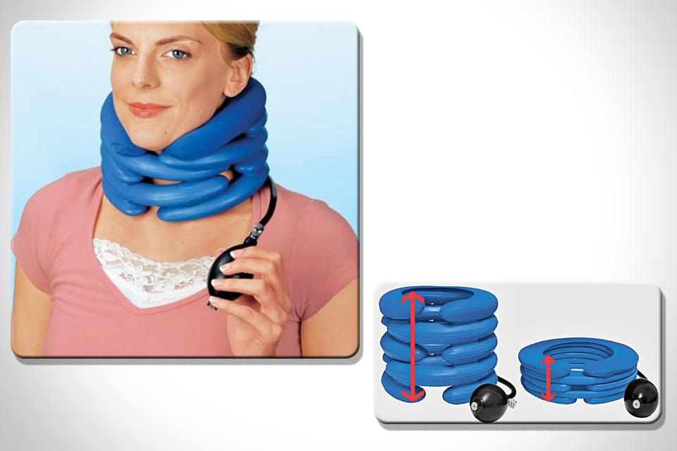 Надувной мышечный расслабитель и суппорт Neck Air Cushion для шеи
