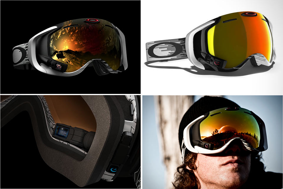 Лыжная маска-компьютер Oakley Airwave 1.5