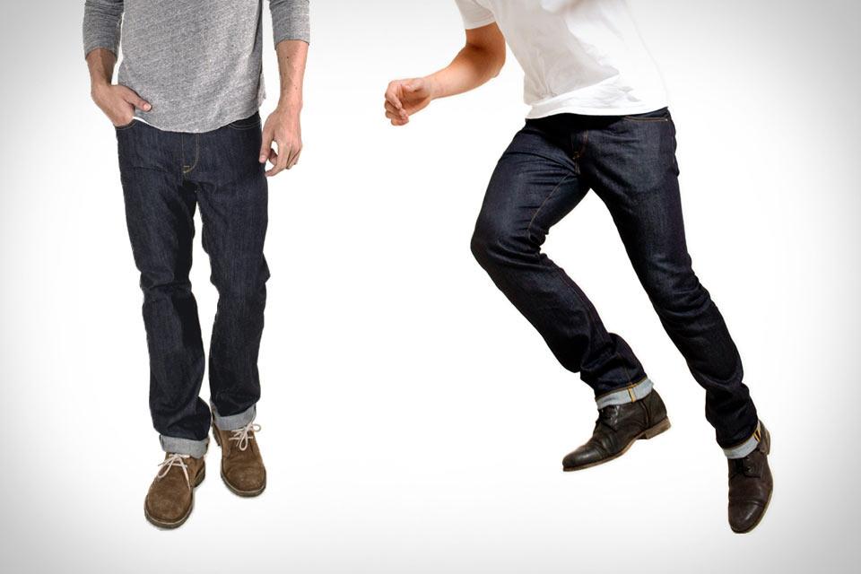 Мягкие и не теряющие форму джинсы PARKE