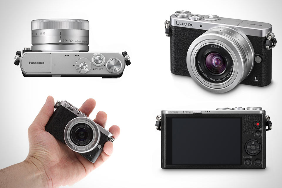 Миниатюрная Micro 4:3 камера Panasonic Lumix GM1