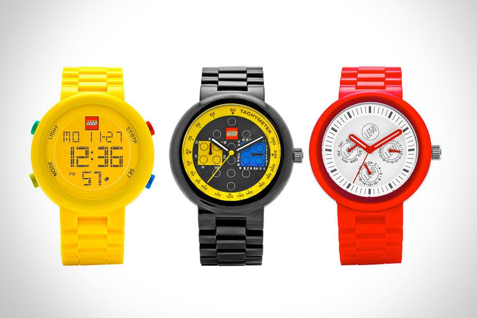 Часы Lego для взрослых