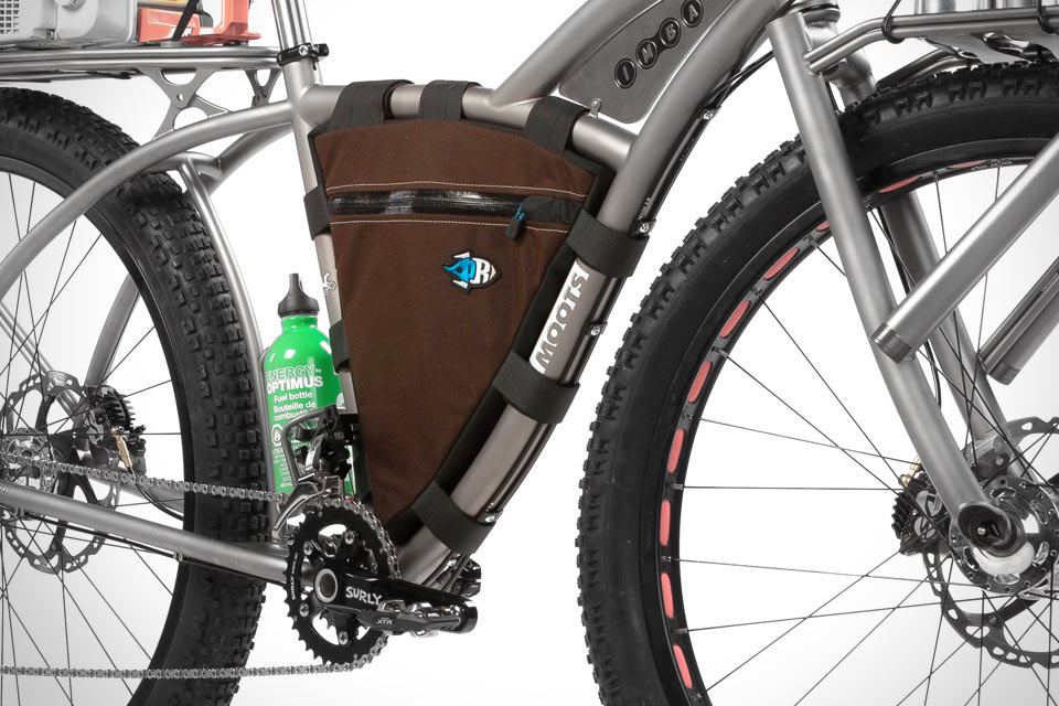 Межрамочная велосипедная сумка Porcelain Rocket