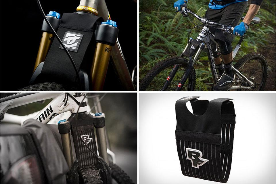 Альтернатива велосипедным щиткам RaceFace Mud Crutch