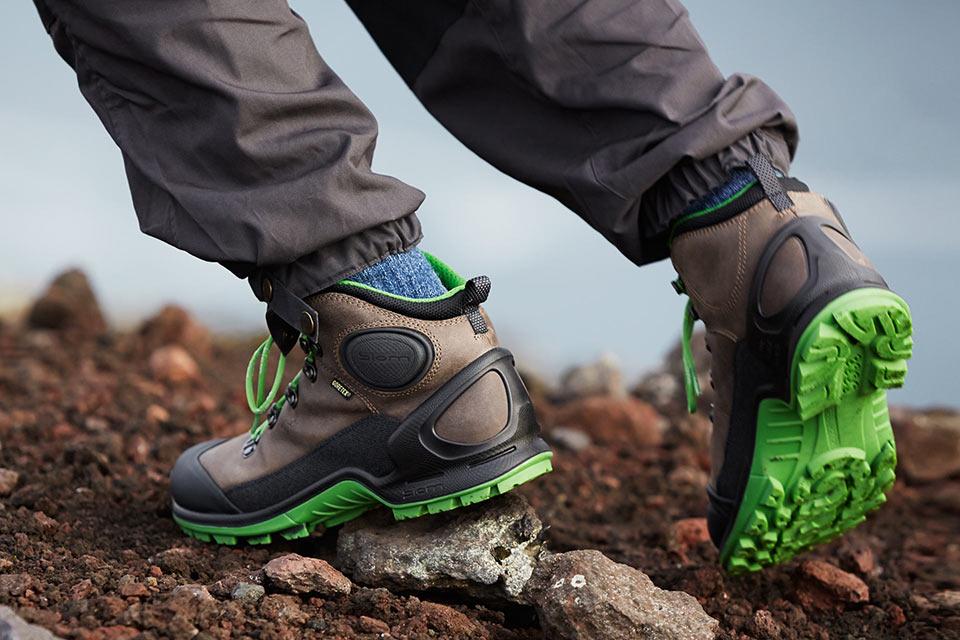 Легкие хайкерские ботинки Ecco Biom Terrain