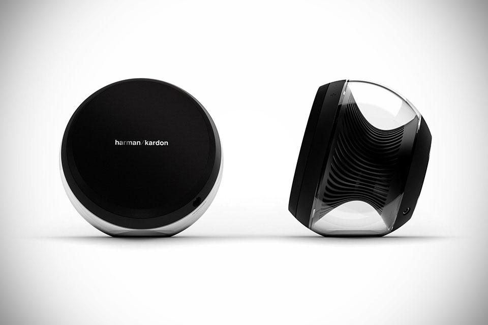 Акустика Harman Kardon Nova с пассивным радиатором турбинного типа
