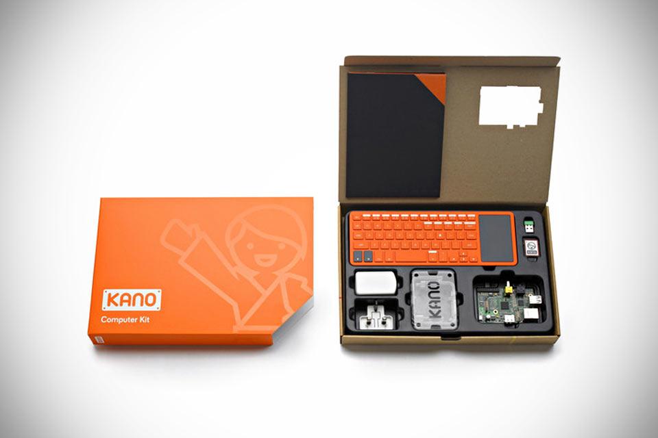 Самодельный компьютер Kano