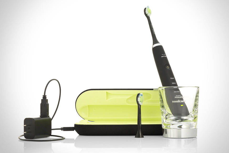 Электрическая зубная щетка Philips Sonicare DiamondClean Black Edition