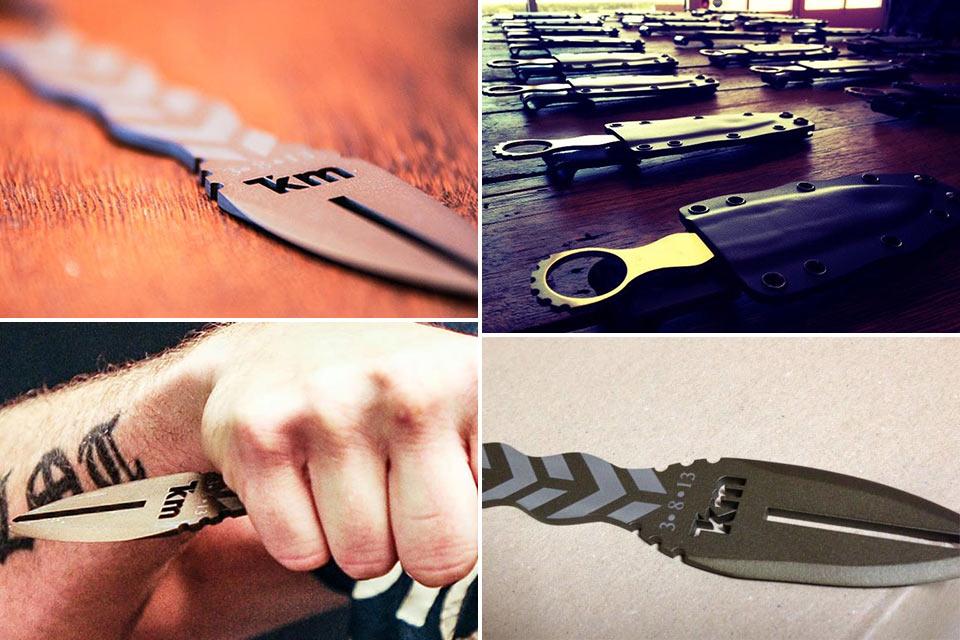 Сертифицированный для Крав-Мага боевой нож Benthic Knife