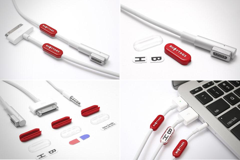 Метки Buoy Tags для кабелей Apple