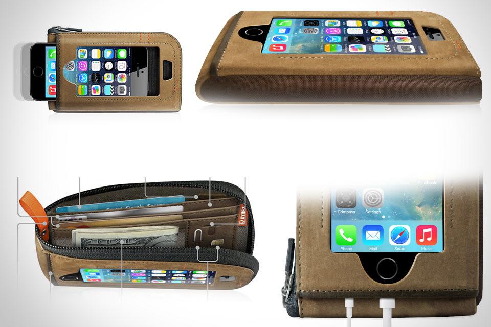 Кошелек CAZLET с отделением для iPhone 5/5s