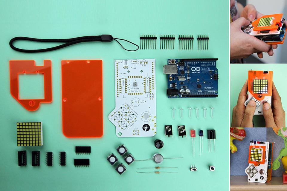 Игровая консоль DIY Gamer Kit для самостоятельной сборки