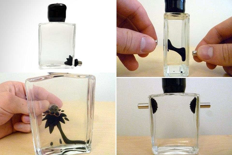 Магнитная игрушка Ferrofluid Bottle