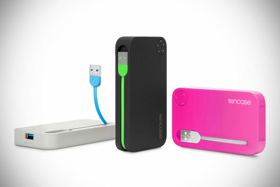 Внешние аккумуляторы Incase Portable Power с прикольным дизайном