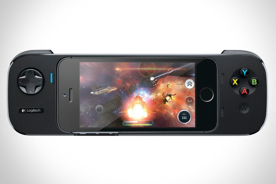 Игровой контролер Logitech PowerShell  для iPhone