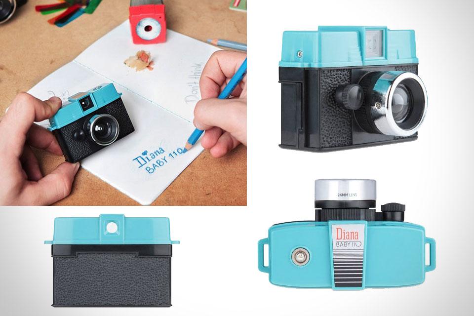 Миниатюрная ломографическая камера Lomography Diana Baby