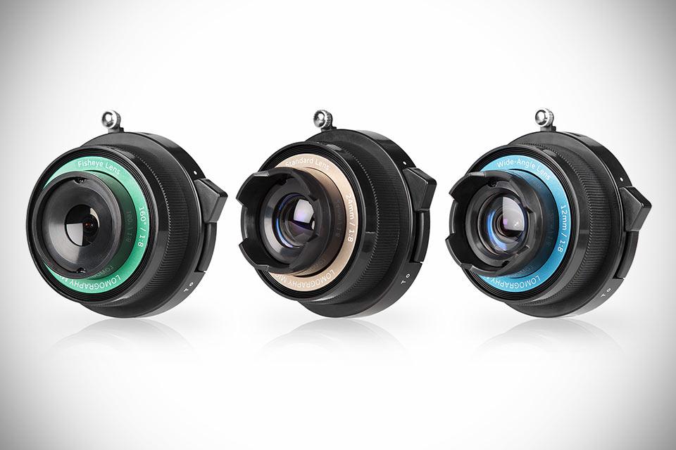 Ломографический набор Lomography Experimental Lens для камер формата Micro 4/3