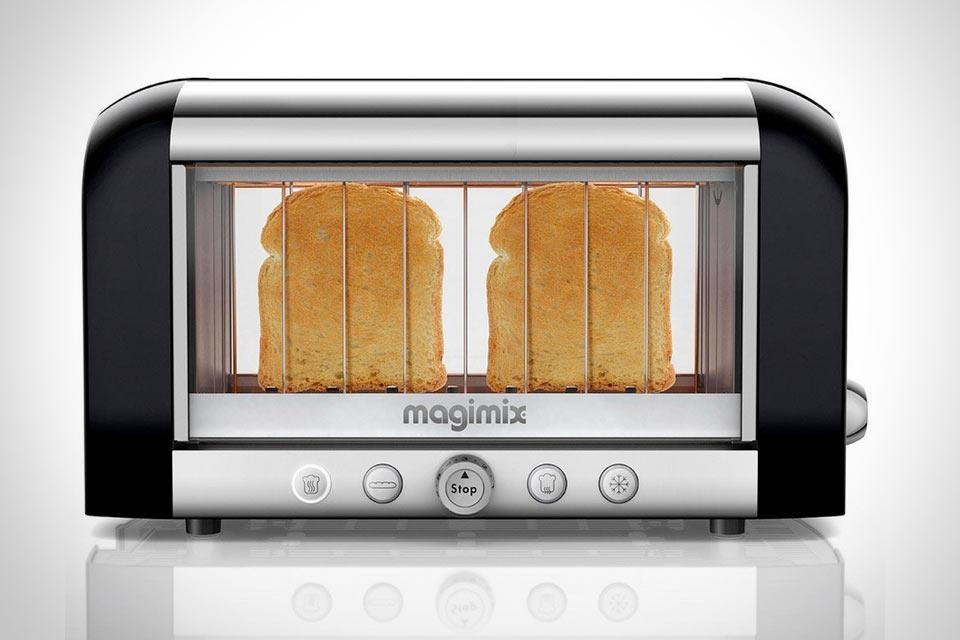 Тостер Magimix с визуальным контролем поджарки