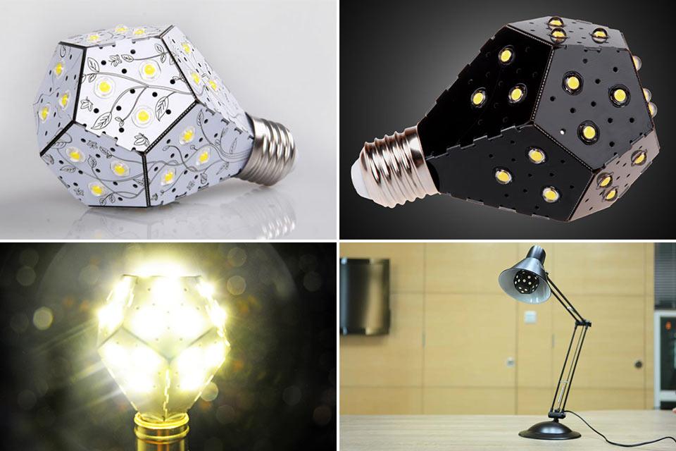 Сверхэнергоэффективная лампочка NanoLeaf
