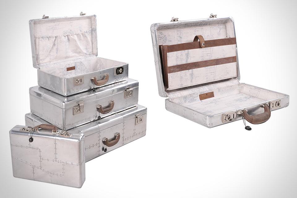Алюминиевые чемоданы Raleigh Spitfire с самолетной конструкцией