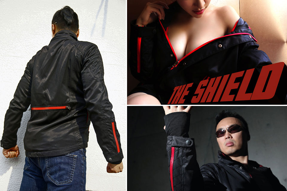 Карбоновая куртка The Shield с защитой ID-чипов