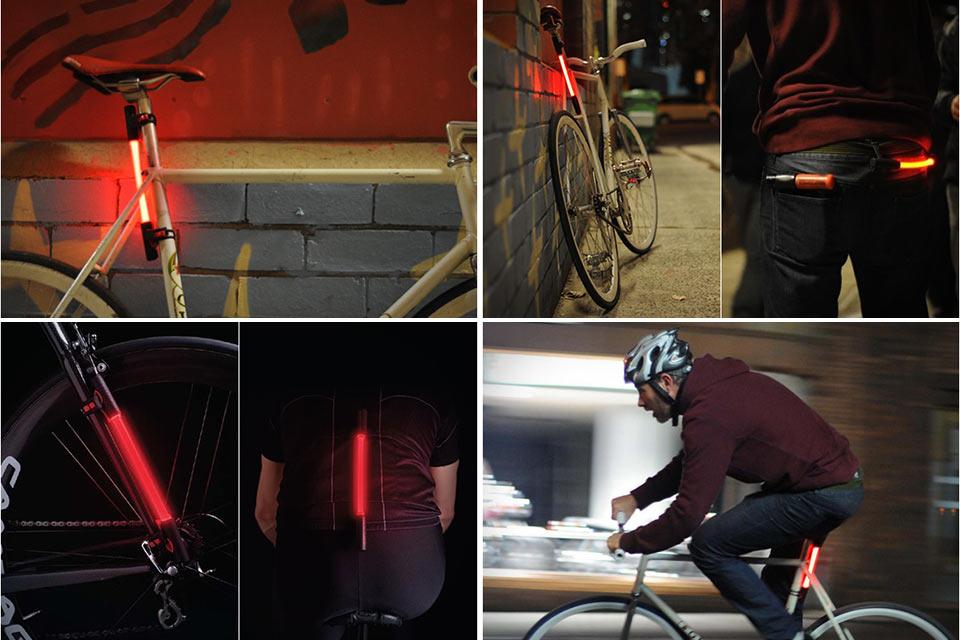 Всенаправленный велосипедный катафот Fibre Flare