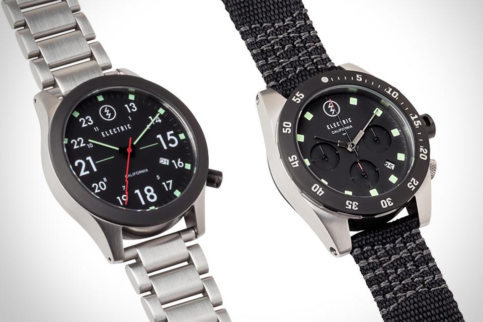 Кварцевые часы и хронографы Electric