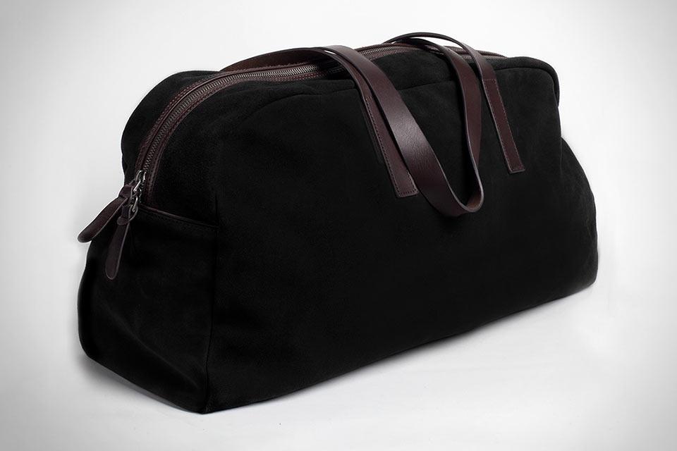 Замшевая дорожная сумка Everlane Suede Weekender