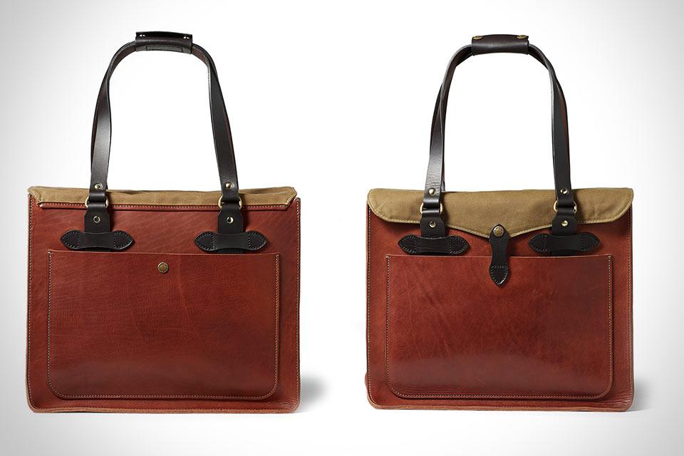 Кожаная сумка Filson Tote