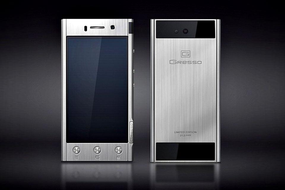Титановый смартфон Gresso Radical