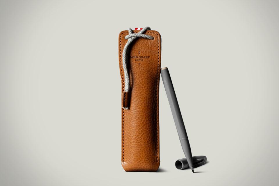 Кожаный чехол Hard Graft Draw Pen для ручек