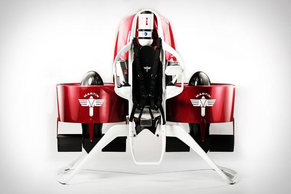 Первый коммерческий реактивный ранец Martin Jetpack
