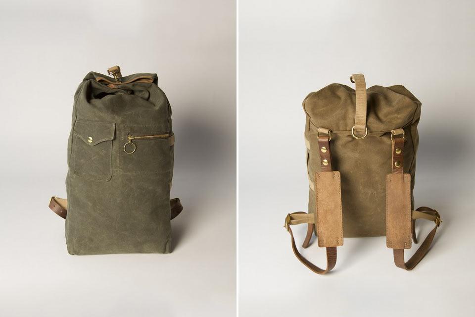 Рюкзак-вещмешок Military Duffle Backpack военного образца