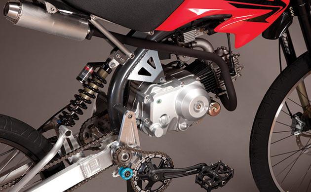 Гибридный мотоцикл своими руками 27