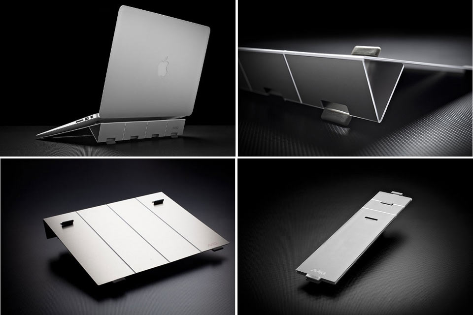 Миниатюрная складная подставка AViiQ для ноутбука