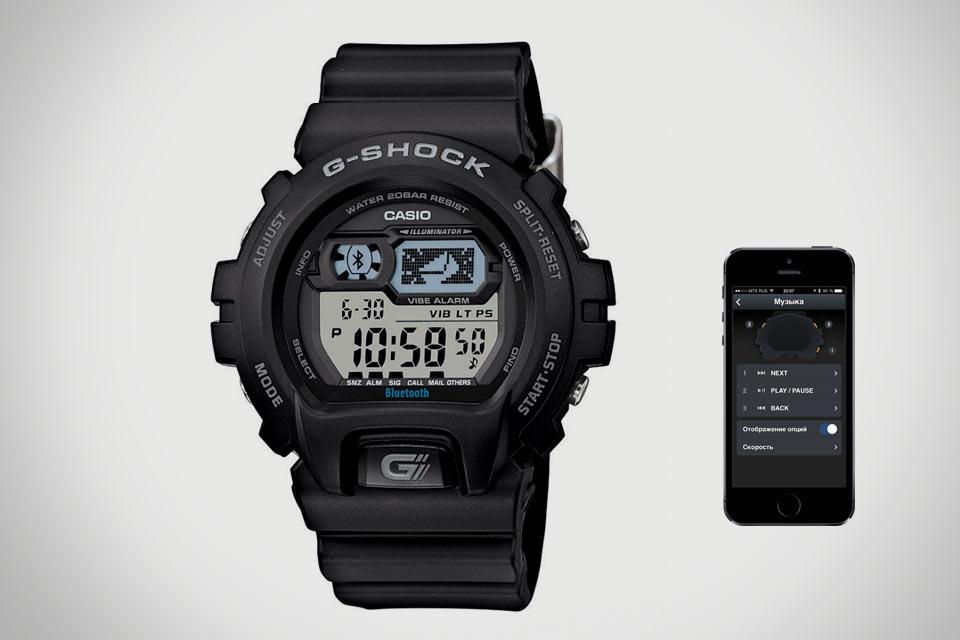 Второе поколение bluetooth-часов Casio G-Shock GB-6900B