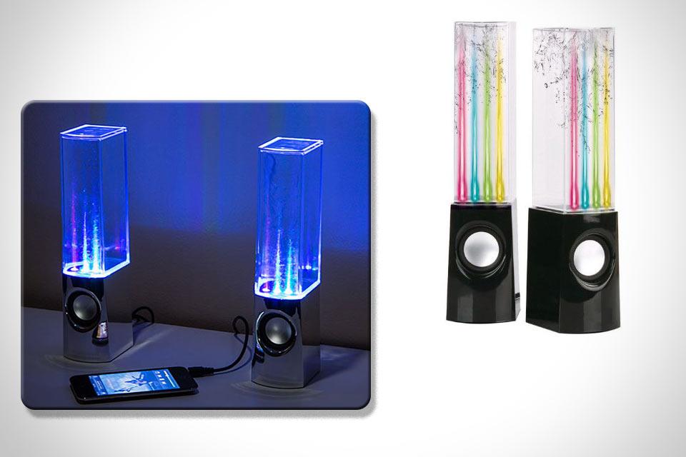 Колонки Dancing Water Speakers со встроенным музыкальным фонтаном