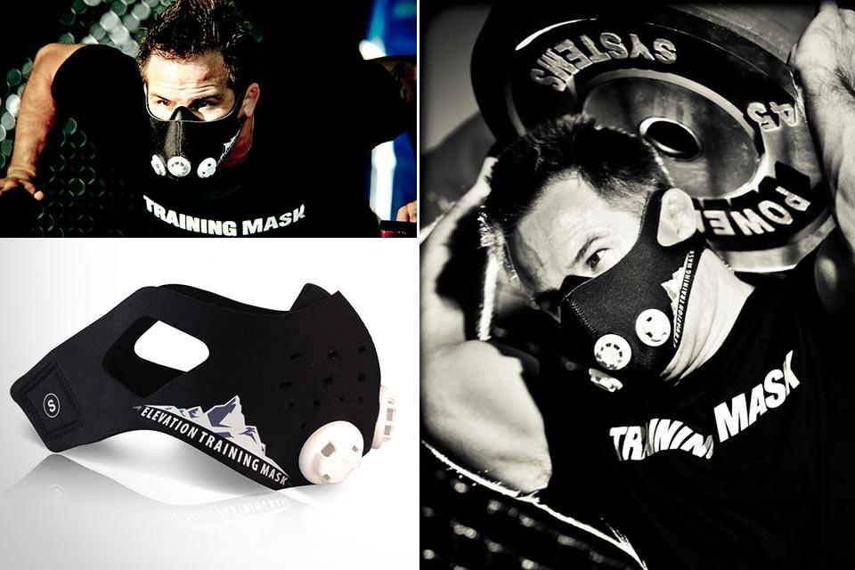 Маска Elevation Training Mask 2.0 для развития легких и выносливости