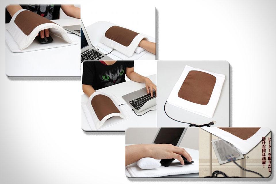 Мышиный коврик с подогревом Futon Mouse Pad