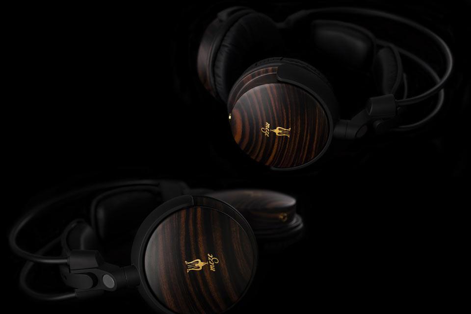 Деревянные аудиофильские наушники Meze 88