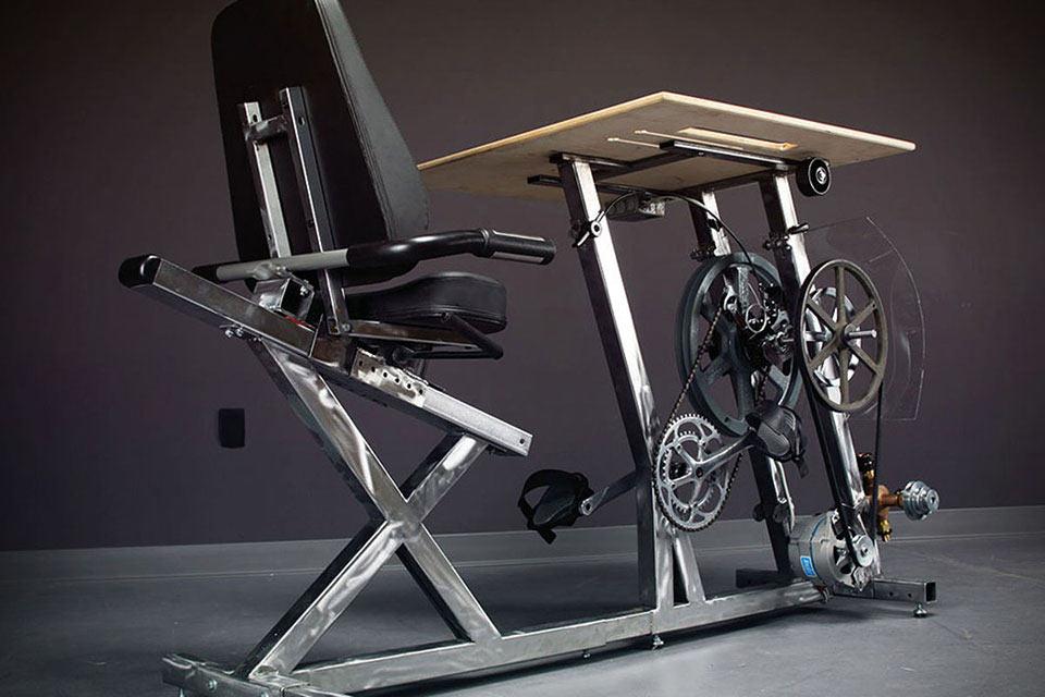 Педальный стол Big Rig Pedal Desk