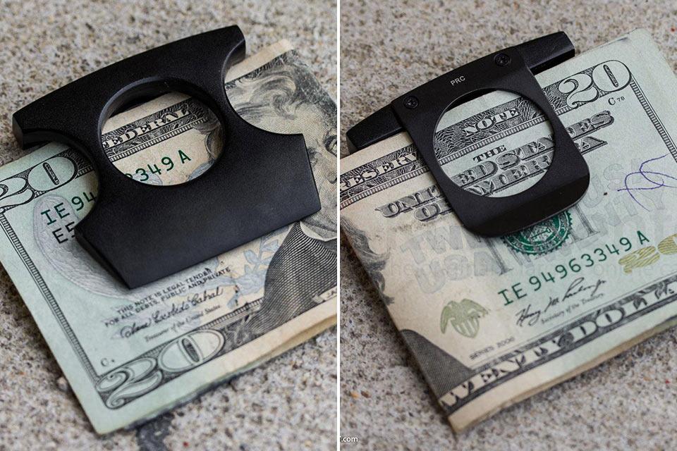 Кастет-клипса для денег Self Defense Money Clip