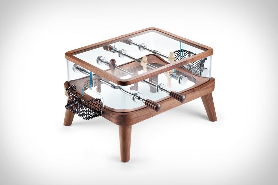 Настольный футбол Teckell в форме кофейного столика