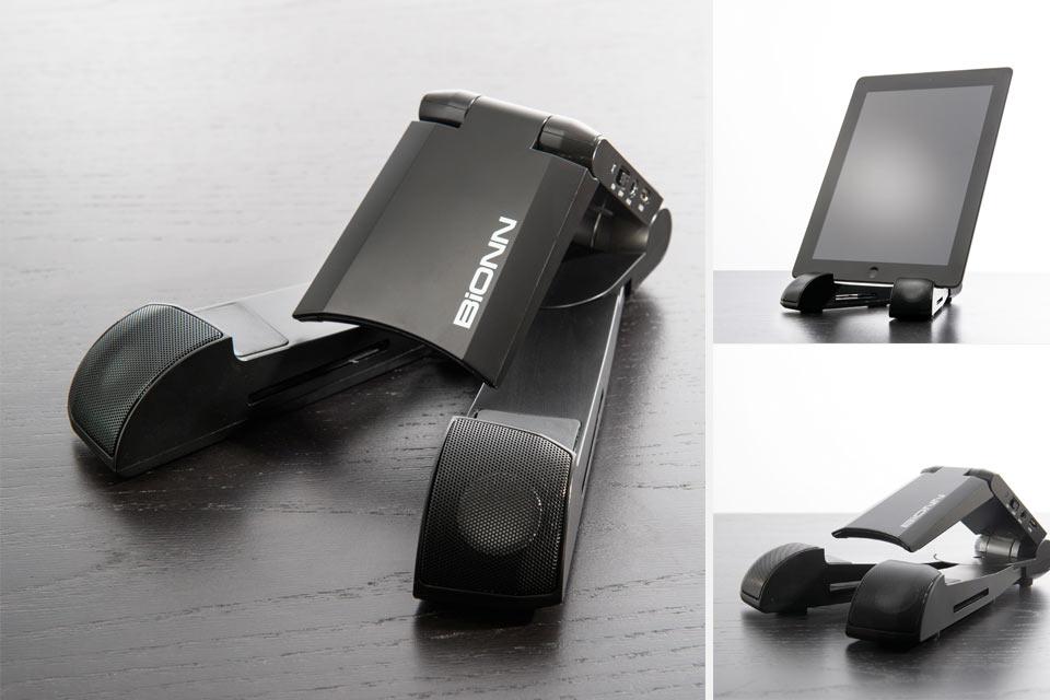 Bluetooth подставка-акустика BiONN для планшета