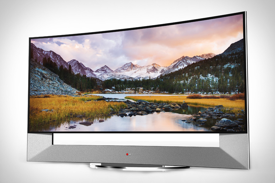 105-дюймовые изогнутые Ultra HD телевизоры LG и Samsung