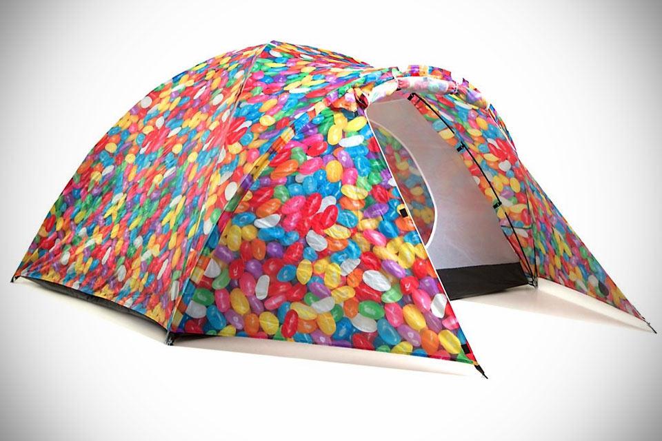 Яркая палатка Bang Bang с солнечной батареей