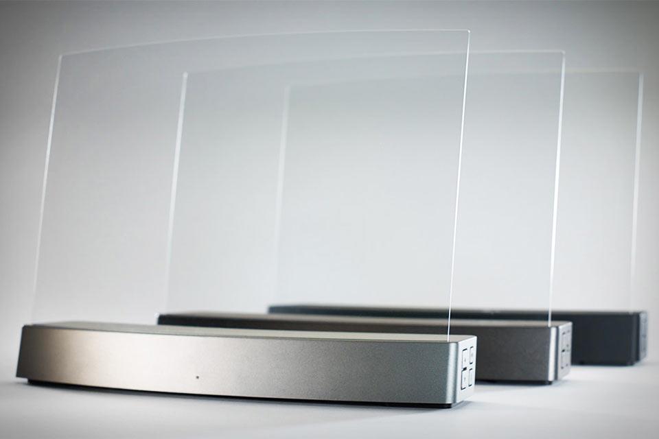 Акустическая система ClearView Clio на основе акрилового стекла