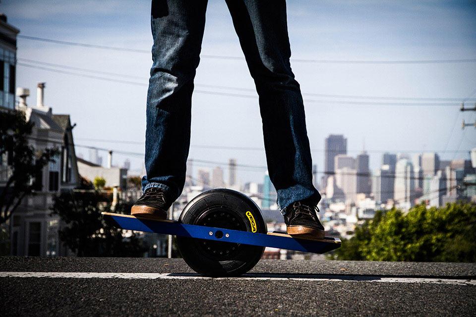 Одноколесный электрический скейт Onewheel