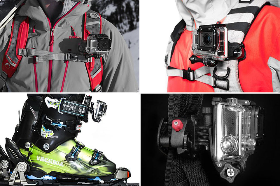 Универсальный крепеж P.O.V. Kit для экшн-камер
