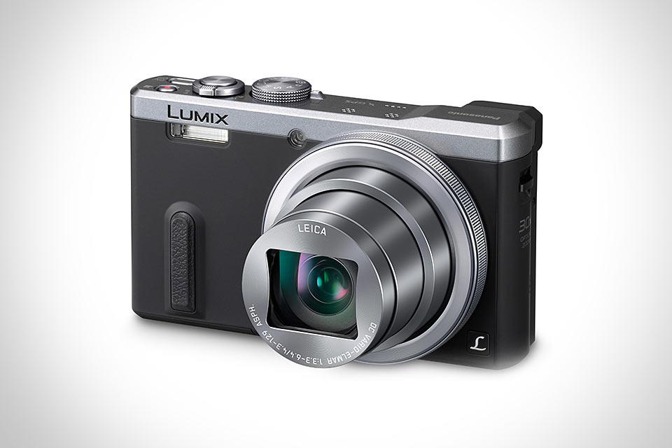 Компактный фотоаппарат Panasonic Lumix ZS40 с 30-кратным оптическим зумом
