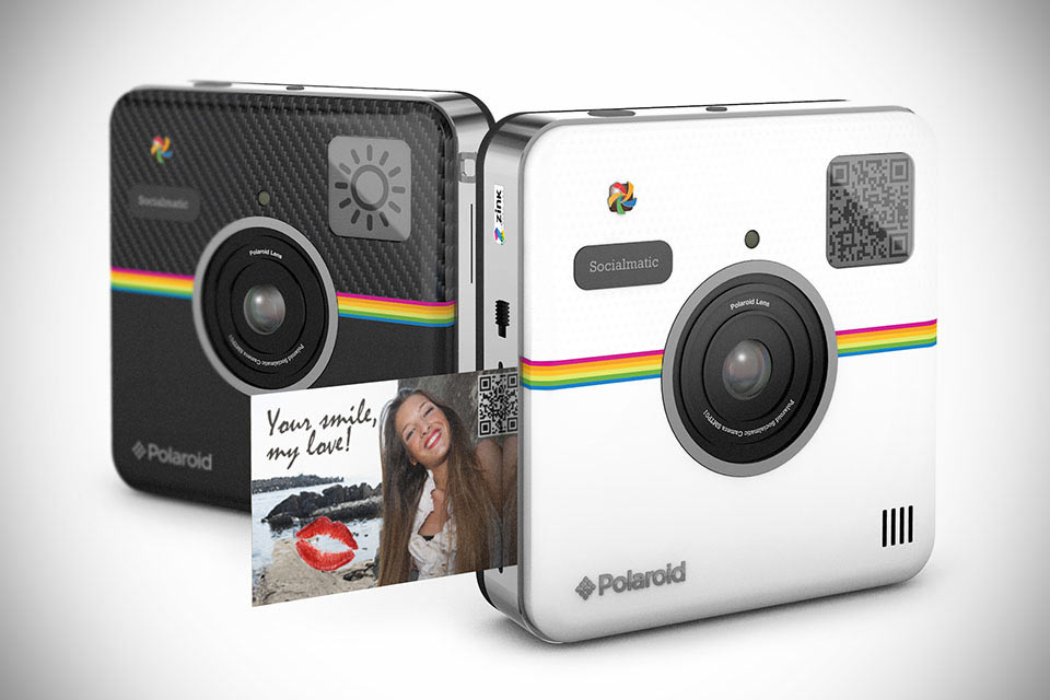Социальная камера Polaroid Socialmatic со встроенным принтером